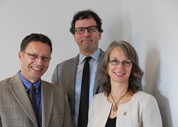 Sylvain Allison, Mark Power et Marie-Andrée Asselin